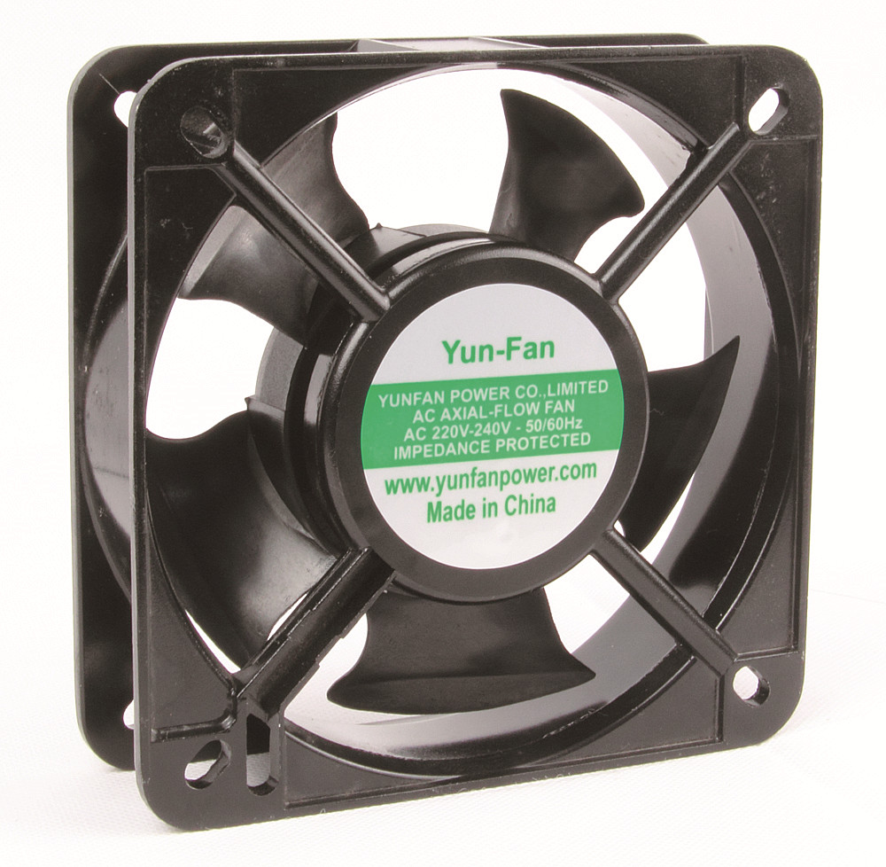 110V AC 13538 cooling fan 5.4 Inch AC Radial Ventilation Fan