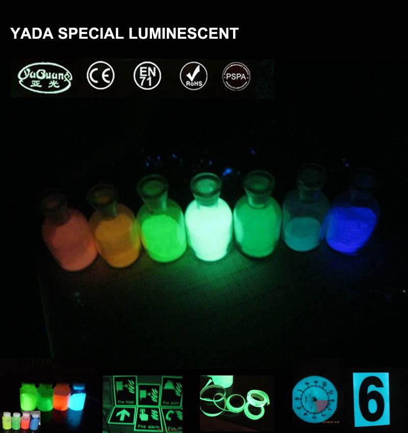 Súper grado polvo fotoluminiscente/luminoso pigmento para pintura de ...
