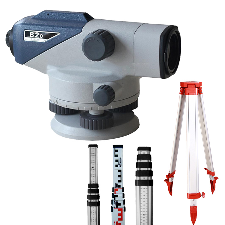 Complete Set Optical Equipment Sokkia B20 Level With 3M Staff&Tripod