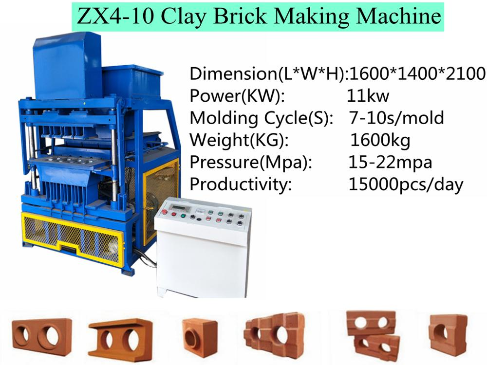 Zx 4-10 Clay Brick Production Line