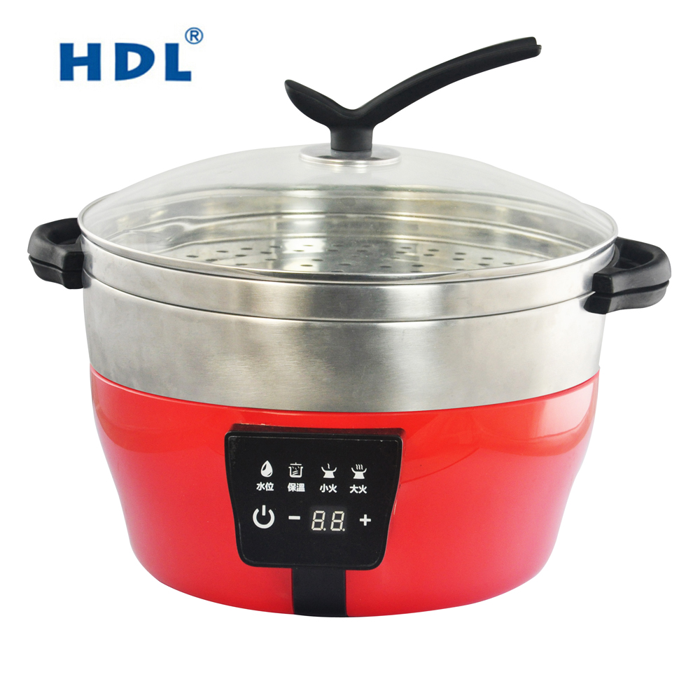 Anti-smoke Seafood cooker Steaming No oil electric food steamer
