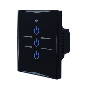 Waterproof touch screen electrical light switch for bathroom