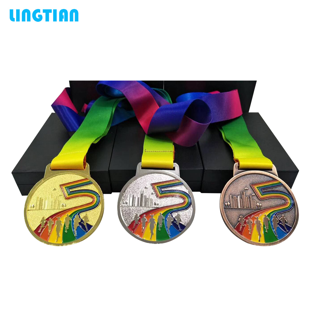 Custom New Designs Metal Champion ,Second Place ,Third Place Running Race Sport Medal