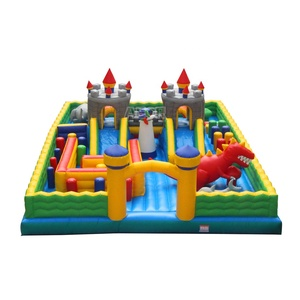 AEOR indoor playground equipment / inflatable playground for sale /childer funny inflatable city
