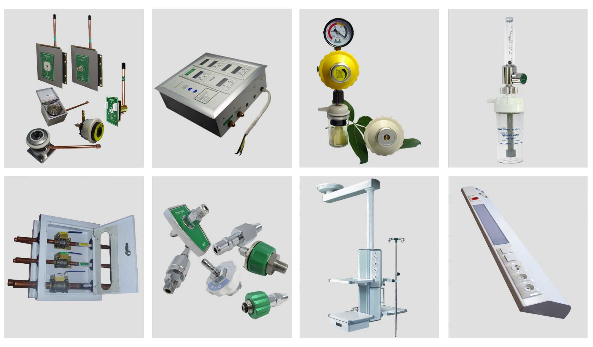 Hospital medical oxygen flowmeter regulators cylinder for for Medical product design companies