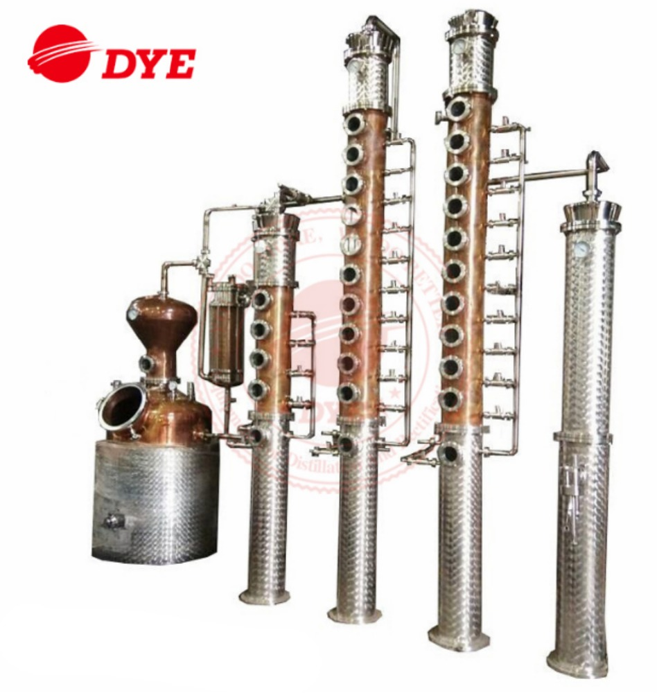 Vodka Gin Brandy Whiskey Rum micro distillery equipment for sale