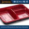 3 compartment disposable plastic fast food tray/containers