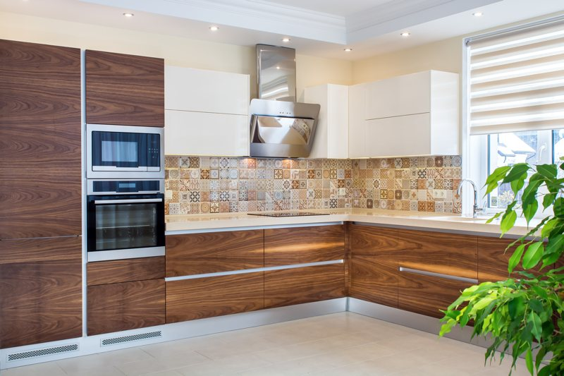 Complete Set Imported Ready Made Solid Wood Kitchen ...