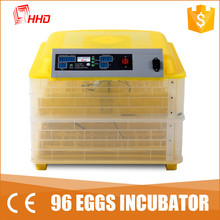 Energy saving cheap automatic mini chicken egg incubator for sale philippines YZ-96