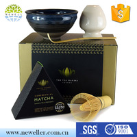 Wholesale direct factory eco-friendly free sample matcha tea set kits for tea ceremony