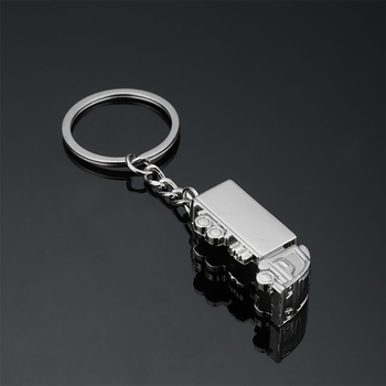 Creative Lorry Key Ring Metal Truck Key Chain