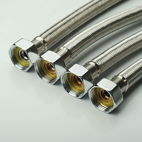 Stainless Steel Wire Braided Flexible Connection Toilet Tube - Buy ...