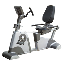 Comercial Recumbent Bike, Bicicleta Reclinada magnética, Bicicleta Reclinada gym fitness equipment
