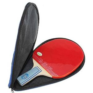 Waterproof Table Tennis Case Racket Paddle Ball Bag Case / Specifications: Material: Waterproof nylon . Weight: 75g . Color: Black+Blue . s: 100% Brand New & High Quality