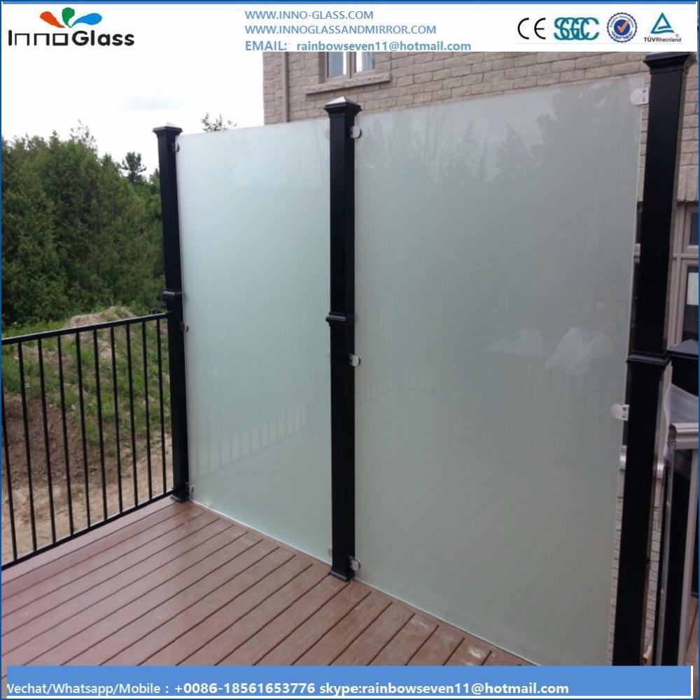 12mm en verre tremp pour ext rieur d coratif piscine cl ture panneaux panneaux de verre de. Black Bedroom Furniture Sets. Home Design Ideas