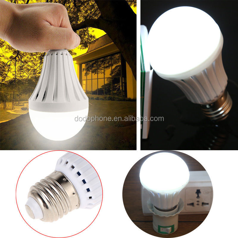 5W 7W 9W 12W 15W LED Magic Bulb At Cheapest Price Rechargeable LED Bulb Home Flashlight Lamp