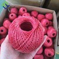 Colored Polypropylene PP Packing Rope Plastic Raffia Twine