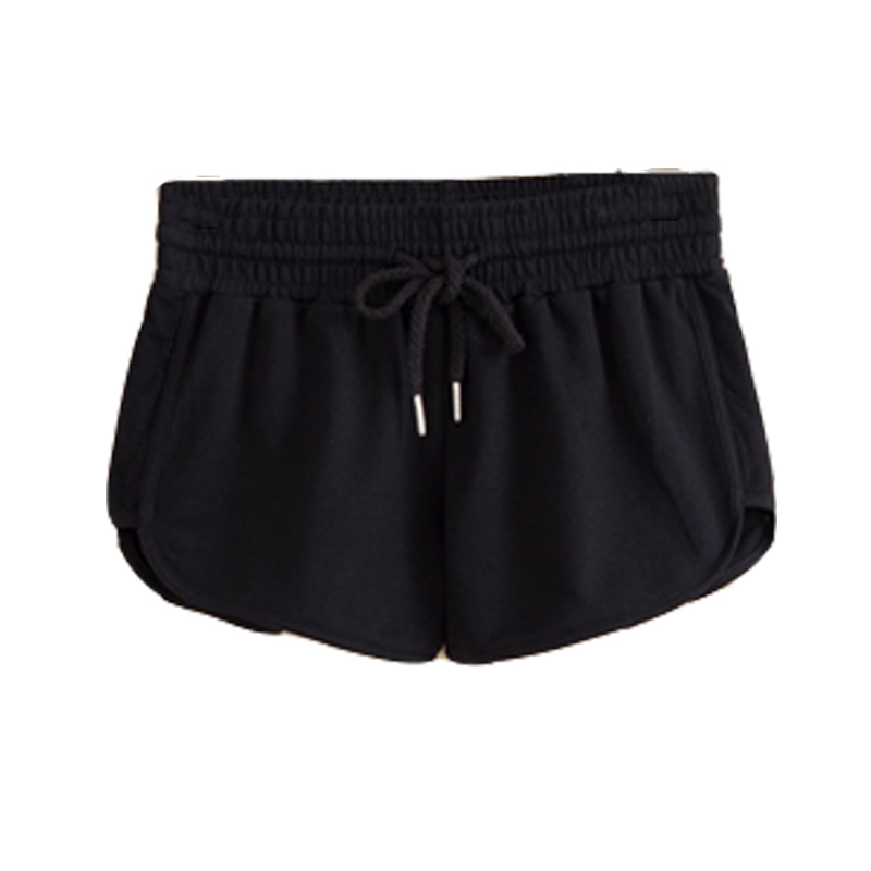 Buy Womens athletic shorts white sports shorts womens black cotton ...