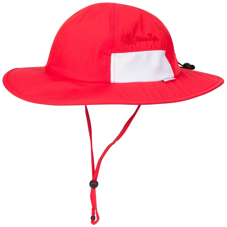 Get Quotations · SwimZip Unisex Child Wide Brim Sun Protection Hat UPF 50  Adjustable cf6a782bb