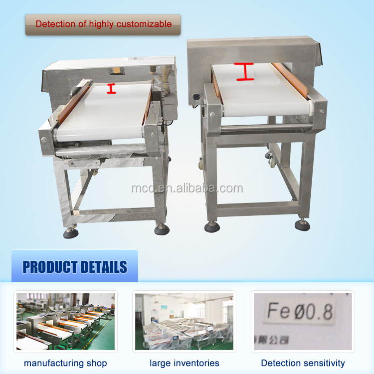 Conveyor Food Metal Detector in detectors for dry food MCD-F500QD