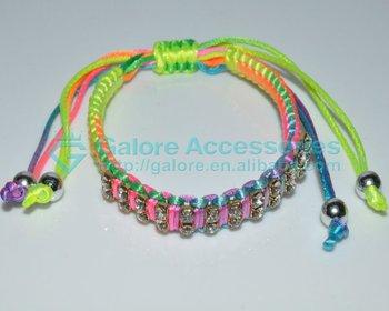 Fashion Custom Friendship Woven Bracelets