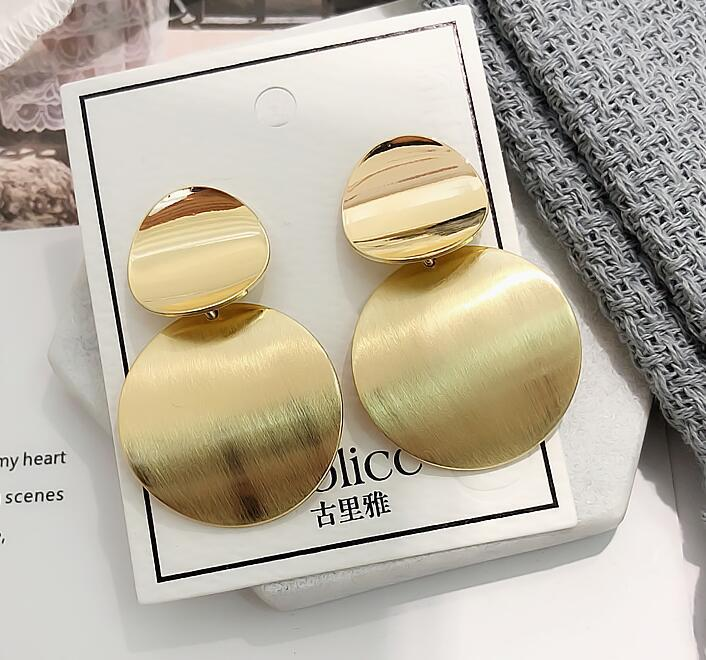 18K gold statement earring no fade no tarnish costume earring chunky earring jewelry big costume earring фото
