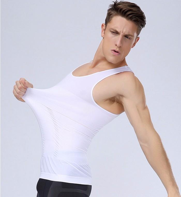 031353d089b0a 2019 Men Slimming Body Shaper Tank Top Vest Mens Waist SLIM For ...