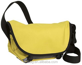 Yellow Waterproof Messenger Bag For Men /bike Messenger Bag - Buy ...