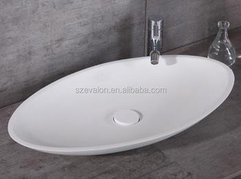Polyester Badkamer Muur : Fabriek polyester hars oog wastafel shell vormige badkamer