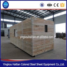 free installation Fast Assembled Wooden Prefab House Log Cabin prefabricated bungalow home kits 20ft