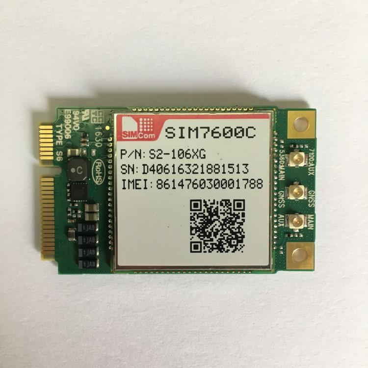 Simcom Module Sim7600e Mini Pcie Interface 4g Module Support Five-band  Lte-fdd B1/b3/b5/b7/b8/b20 - Buy Td-scdma Wcdma Wireless Modem Routers