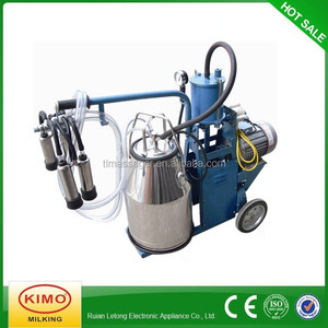 KIMO Best Price Supply Piston-typed Portable Used Goat Milking Machine For China