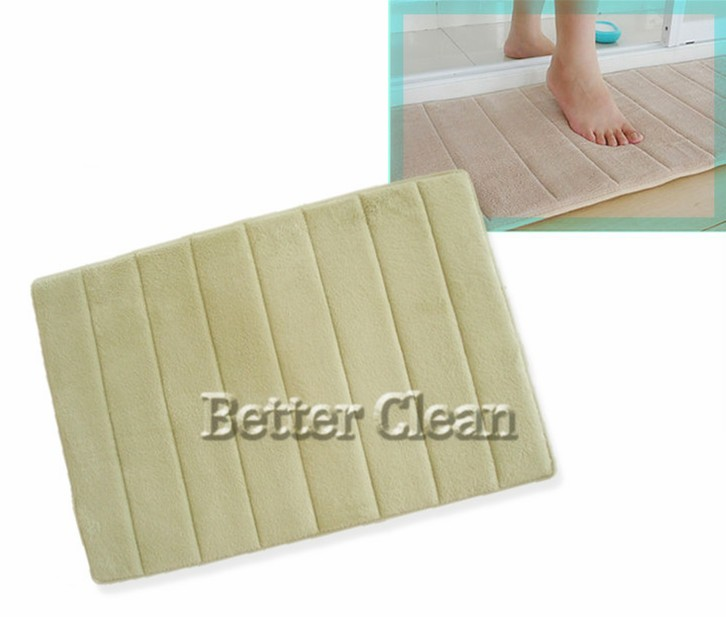 Simple With Shaggy Two Side Sponge Foam Pad Inner Bathroom