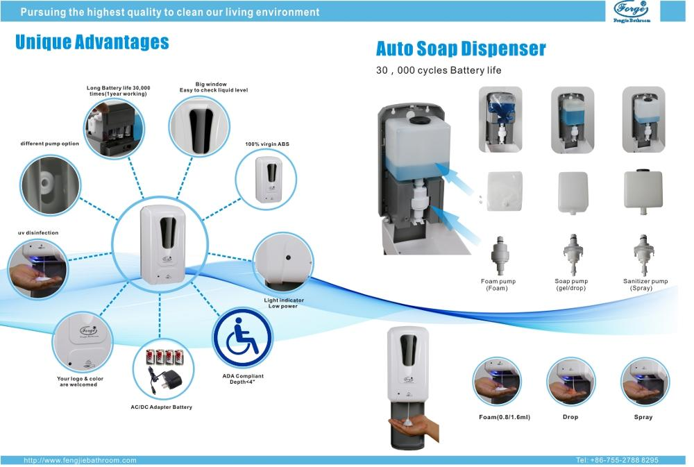 Automatic Foam Soap Dispenser 1200ml