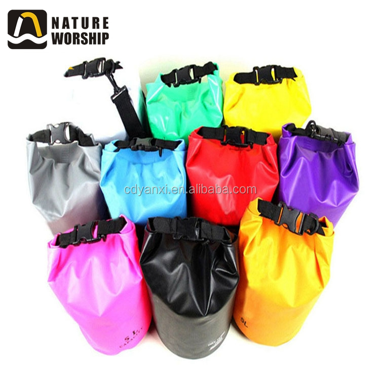 Promotional Gift Outdoor Waterproof Laundry Dry Bags, Ocean Sling Backpack Travel Dry Bags