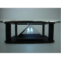 3D hologram projector pyramid interactive display, PCT reflection film