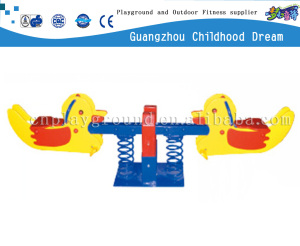 (HD-14906)Colorful Duck kids plastic seesaw