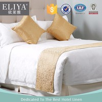 ELIYA specialized in supplying hotel bed sheet set /hotel bed cover/hotel bed scarf