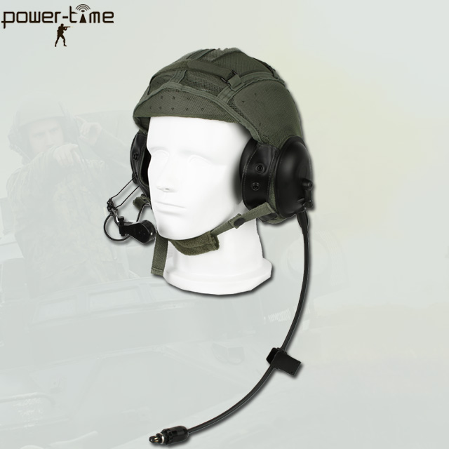 military armoured vehicle intercom helmet hands free 2 way comunicators PTE-747