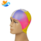 50pc MOQ make a printing design your own funny adult silicone swim cap