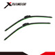 Green Double Color Wiper Blades