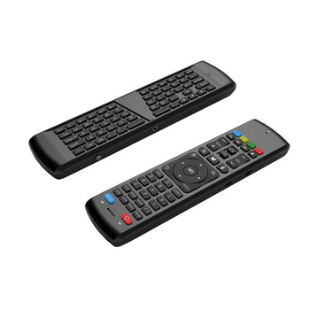 2.4G WIRELESS Air Mouse Voice Keyboard + IR Learning Two Side Remote Control Smart TV,IPTV,MINI PC,HTPC,ANDROID TV BOX