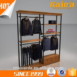 New clothing retail garment shop display interior design