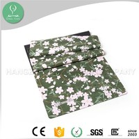 Custom made printed natural rubber eco yoga mat non toxic yoga mattress