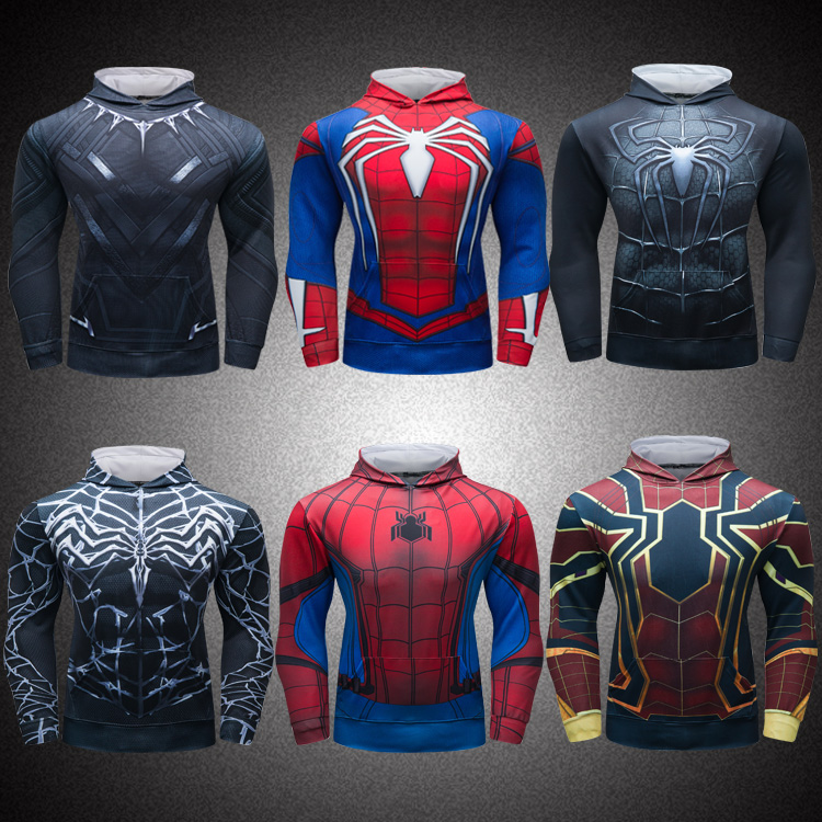 Marvel Superhero Clothing 3D Printed Pullover <strong>Hoodies</strong> Men