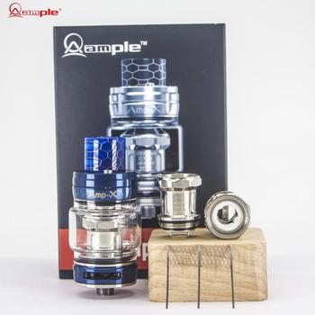 2018 Christmas Gift Choosing Ample vape Amp-X Tank with the first tripod circuit mesh coil