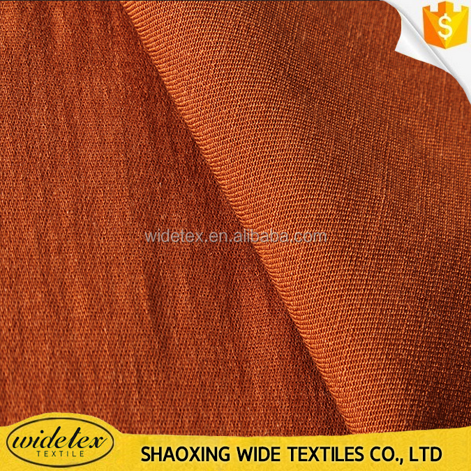 china supplier Tencel linen spandex dyed fabric for trousers