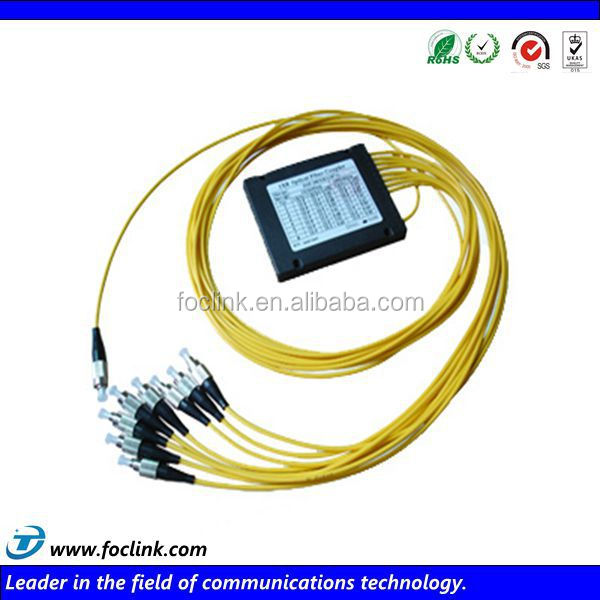 cable making equipment high quality ftth 8 way fiber optic splitter