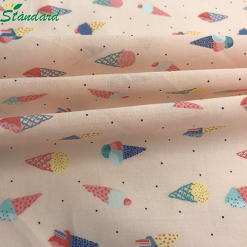 wholesale 69gsm 100% cotton solid dyed reactive printed muslin voile fabric for lining
