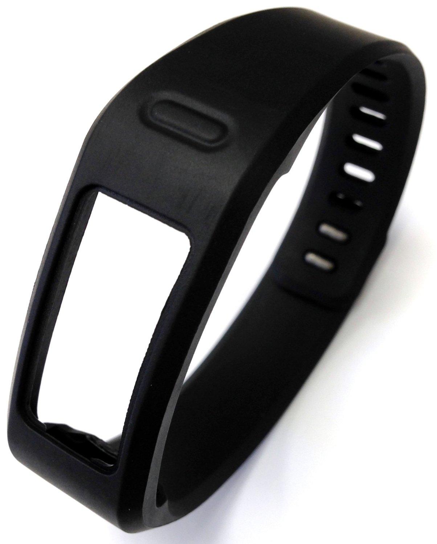 1pc Replacement Black Band & Metal Clasp For Garmin Vivofit Bracelet Smart Wristband Wireless Activity Bracelet Sport Bracelet Sport Arm Band Armband